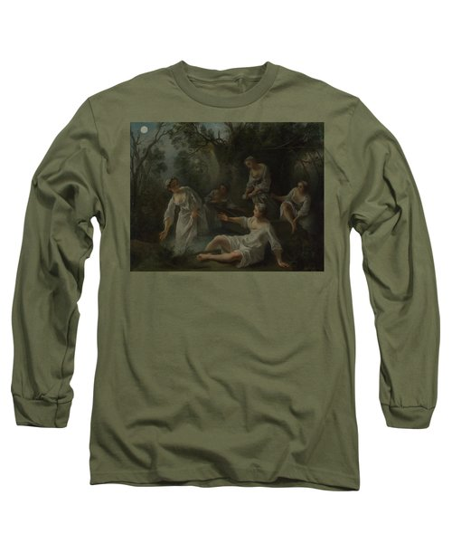 The Four Times Of Day   Evening Long Sleeve T-Shirt