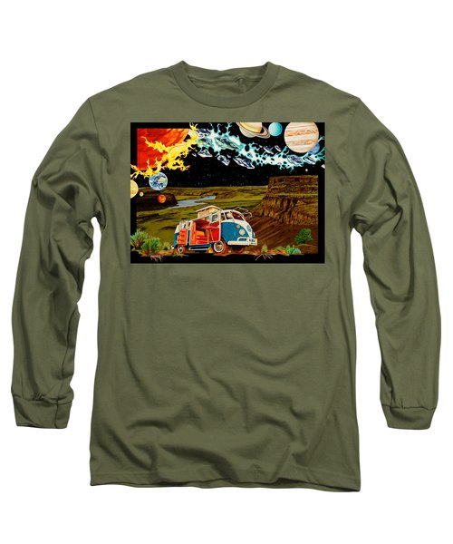 The Gorge One Sweet World Long Sleeve T-Shirt by Joshua Morton