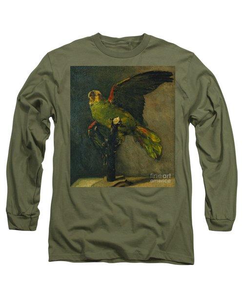 The Green Parrot Long Sleeve T-Shirt