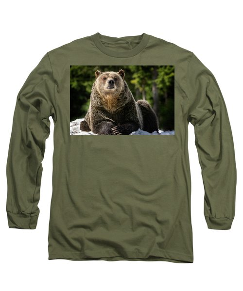 The Grizzly Bear Grinder Long Sleeve T-Shirt