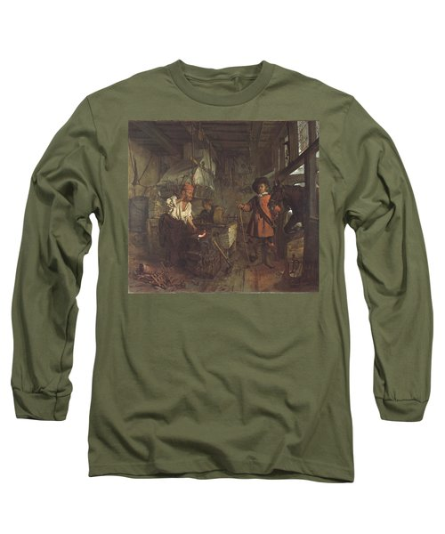 The Interior Of A Smithy Long Sleeve T-Shirt