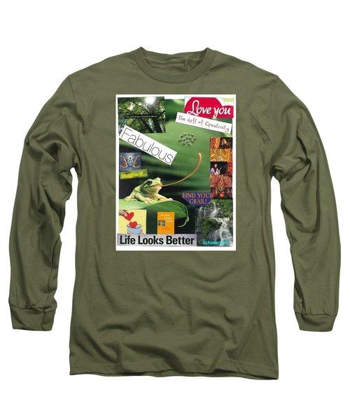 The Magic Of Life Long Sleeve T-Shirt
