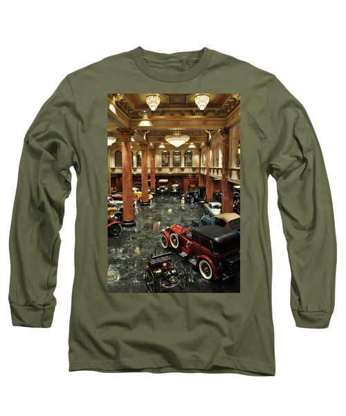 Grand Salon At The Nethercutt Long Sleeve T-Shirt