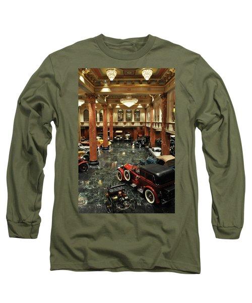 Grand Salon At The Nethercutt Long Sleeve T-Shirt