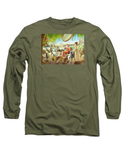 The Palace Garden Tea Party Long Sleeve T-Shirt by Reynold Jay