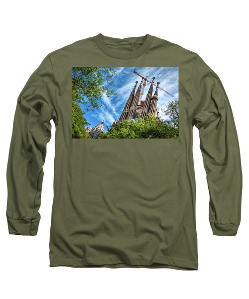 The Sagrada Familia Long Sleeve T-Shirt