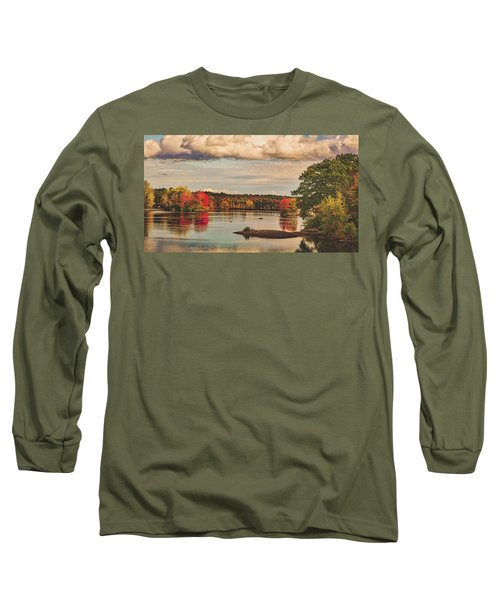 The Stillwater River In Maine Long Sleeve T-Shirt