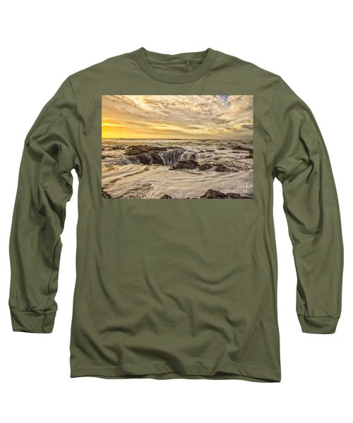 Thor's Well Long Sleeve T-Shirt by Billie-Jo Miller
