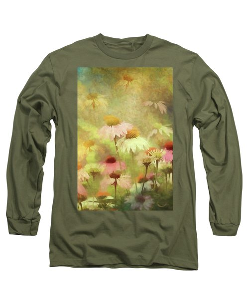 Thoughts Of Flowers Long Sleeve T-Shirt