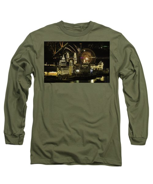Long Sleeve T-Shirt featuring the photograph Three In One by Chris Cousins