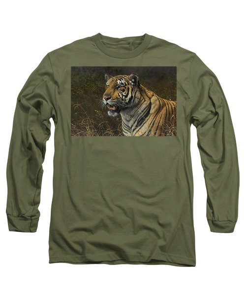 Tiger Portrait Long Sleeve T-Shirt