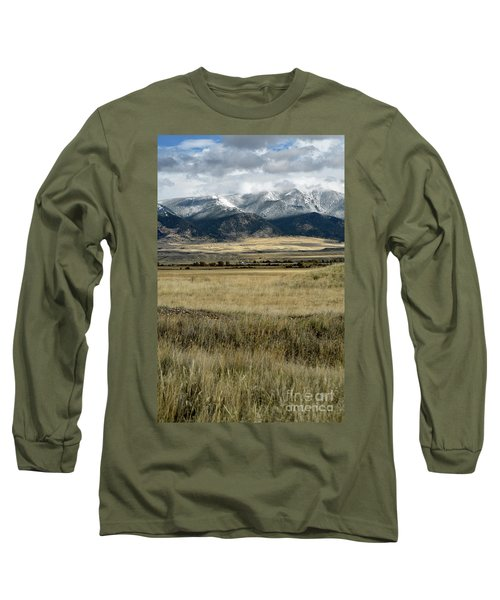 Tobacco Root Mountains Long Sleeve T-Shirt