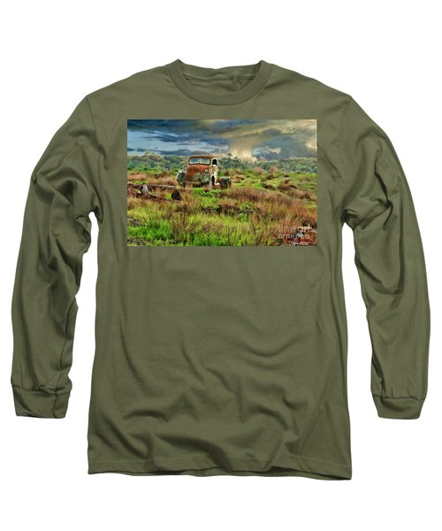 Tornado Truck Long Sleeve T-Shirt