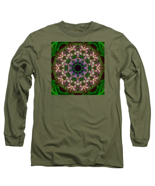 Transition Flower 10 Beats Long Sleeve T-Shirt by Robert Thalmeier