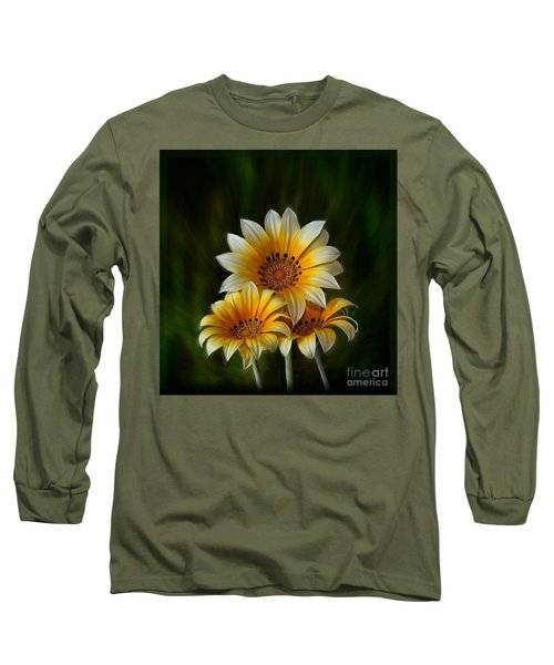 Triple Sunshine Long Sleeve T-Shirt