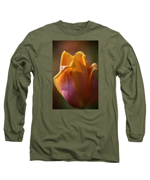 Tulip Long Sleeve T-Shirt by Andre Faubert