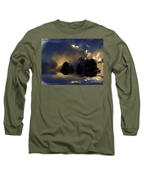 Tumultuous Long Sleeve T-Shirt by Elfriede Fulda