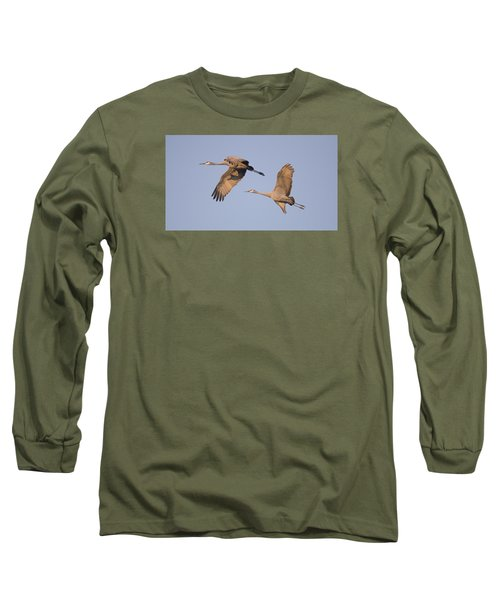 Long Sleeve T-Shirt featuring the photograph Two Together by Wanda Krack