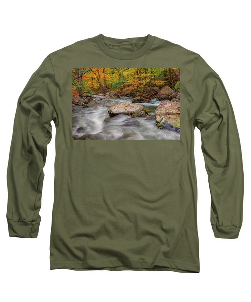 Tye River Long Sleeve T-Shirt by David Cote