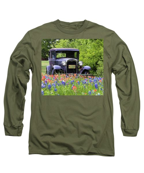 Vintage Ford Automobile Long Sleeve T-Shirt
