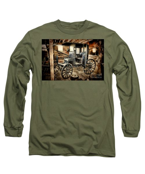 Vintage Horse Drawn Carriage  Long Sleeve T-Shirt