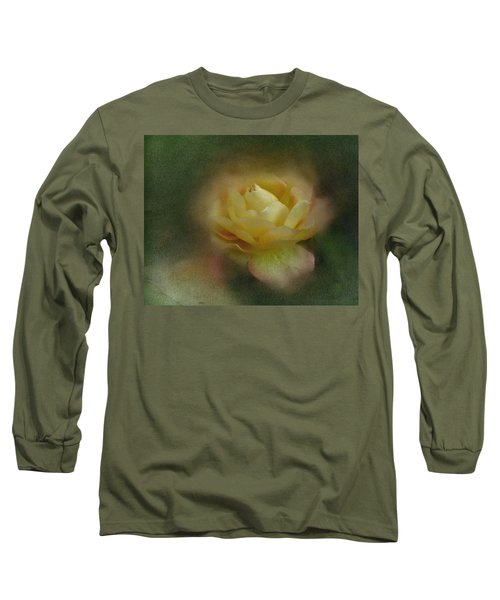 Long Sleeve T-Shirt featuring the photograph Vintage October Rose  by Richard Cummings
