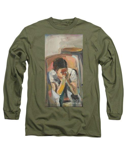 Wait Child Long Sleeve T-Shirt by Daun Soden-Greene
