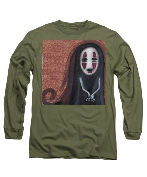 Waiting  Long Sleeve T-Shirt by Abril Andrade Griffith