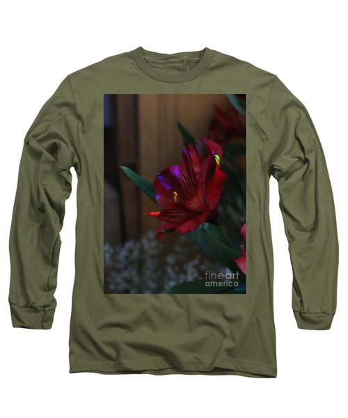 Long Sleeve T-Shirt featuring the photograph Waiting For You by Marie Neder