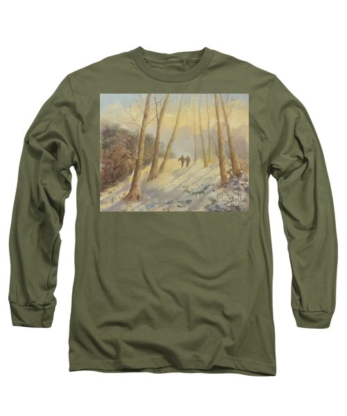 Walking In Sunshine Long Sleeve T-Shirt