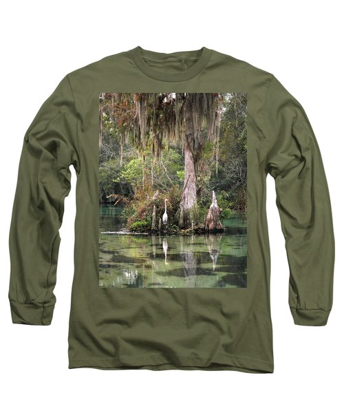 Weeki Wachee River Long Sleeve T-Shirt