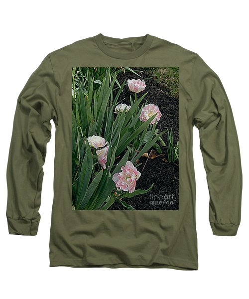 Long Sleeve T-Shirt featuring the photograph We're Over Here by Nancy Kane Chapman