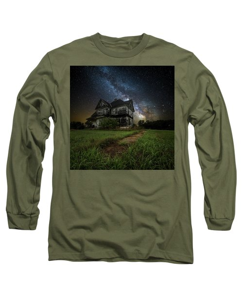 Long Sleeve T-Shirt featuring the photograph What Once Was by Aaron J Groen