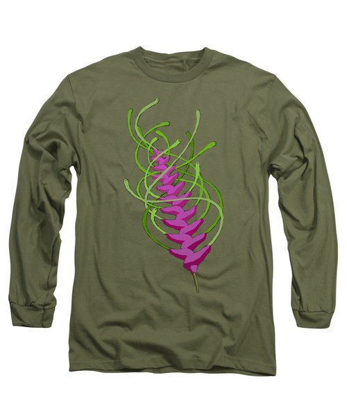 whEAT alien FUCsia I Long Sleeve T-Shirt