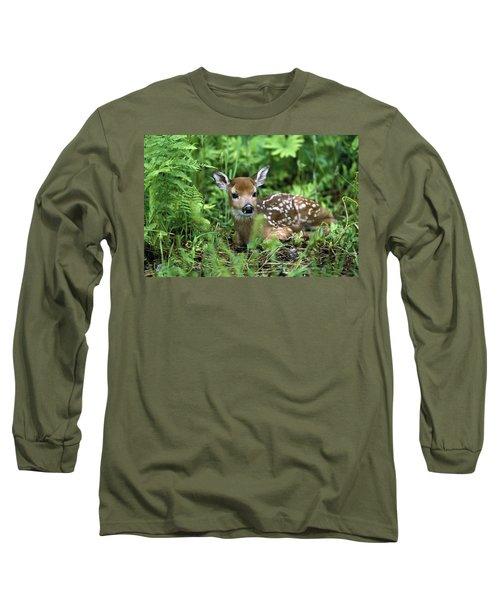 White-tailed Deer Odocoileus Long Sleeve T-Shirt