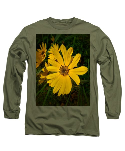 Wild Yellow Long Sleeve T-Shirt