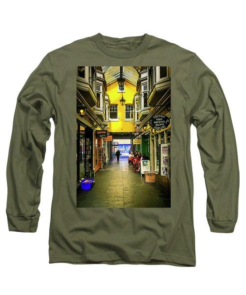 Windham Shopping Arcade Cardiff Long Sleeve T-Shirt