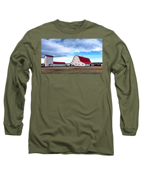 Wyoming Ranch Long Sleeve T-Shirt by L O C