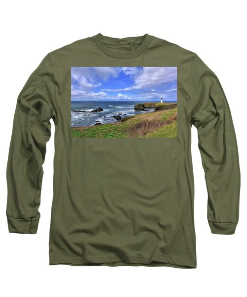 Yaquina Head Lighthouse Long Sleeve T-Shirt