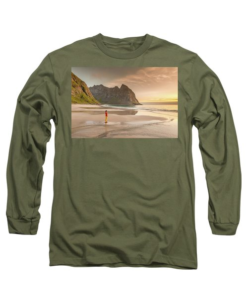 Your Own Beach Long Sleeve T-Shirt by Alex Conu