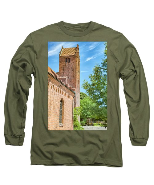 Long Sleeve T-Shirt featuring the photograph Ystad Monastery In Sweden by Antony McAulay