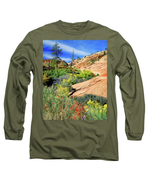 Zion Slickrock Long Sleeve T-Shirt