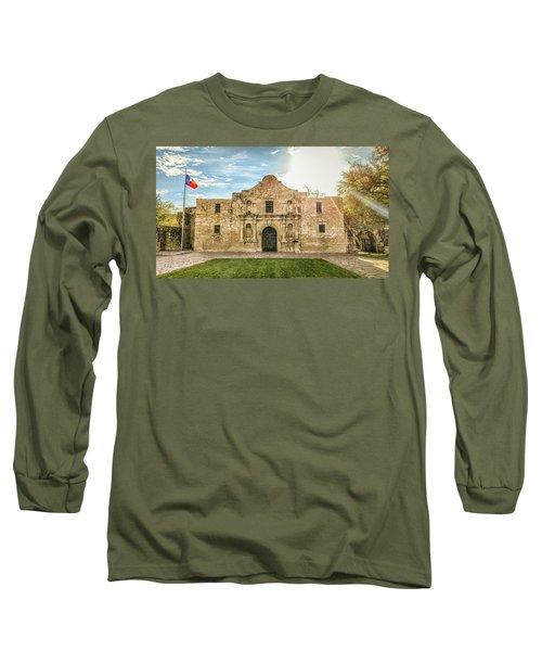 10862 The Alamo Long Sleeve T-Shirt by Pamela Williams