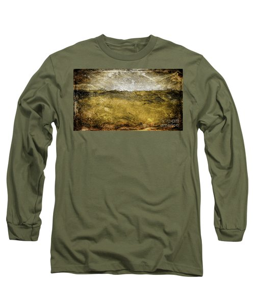 10b Abstract Expressionism Digital Painting Long Sleeve T-Shirt