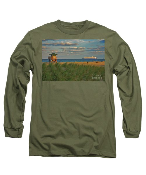 Long Sleeve T-Shirt featuring the photograph 13- Cruising In Paradise by Joseph Keane