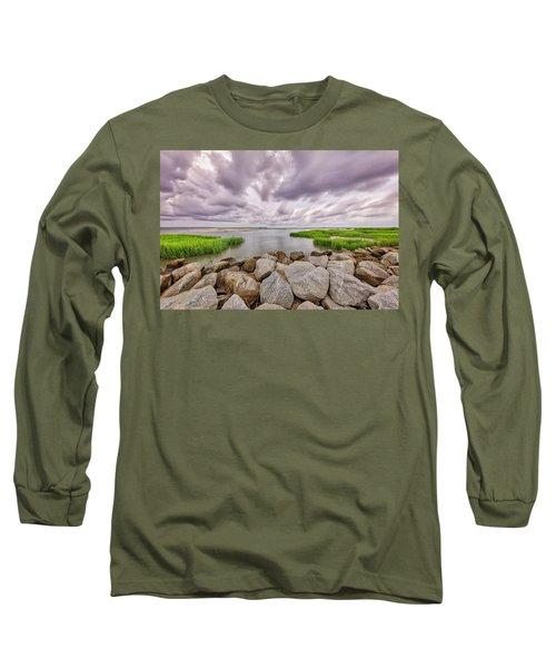 Seascape Of Hilton Head Island Long Sleeve T-Shirt