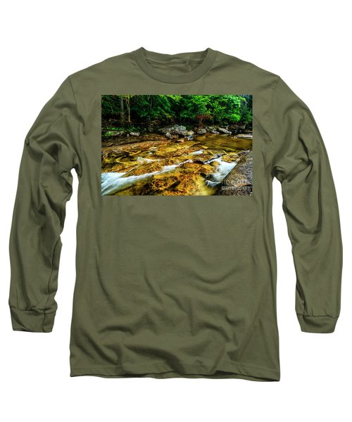 Long Sleeve T-Shirt featuring the photograph Williams River Summer by Thomas R Fletcher