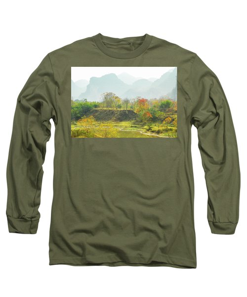 The Colorful Autumn Scenery Long Sleeve T-Shirt