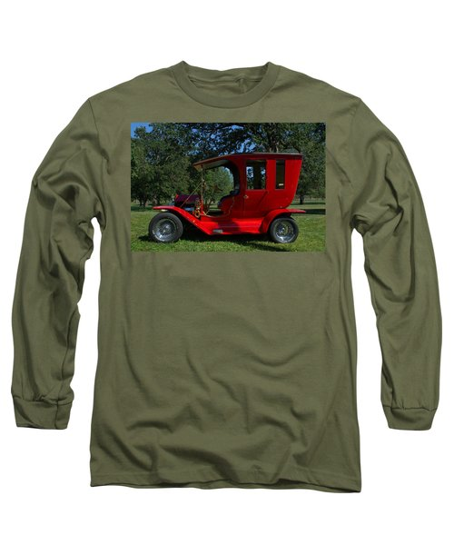 1909 Ford Model T Limo Custom Hot Rod Long Sleeve T-Shirt