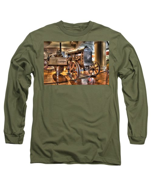 1917 Model 1 Fordson Tractor Dearborn Mi Long Sleeve T-Shirt